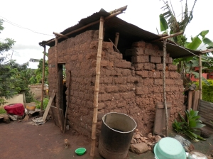 The village kitchen used by an applicant's family.
