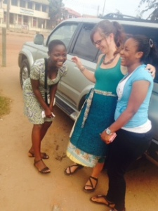 Elizabeth, Crystal, and Leticia